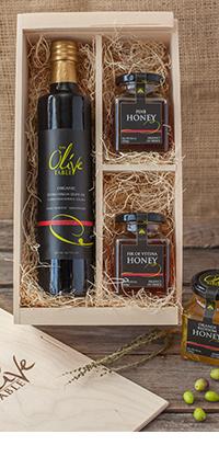 Olive Oil & Honey Gift Set